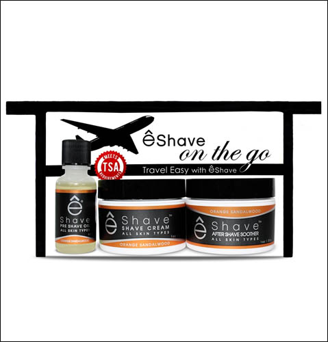 On The Go Travel Shave Kit