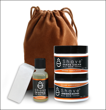 Travel Shave Pouch